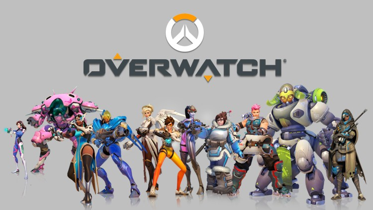 all characters from overwatch