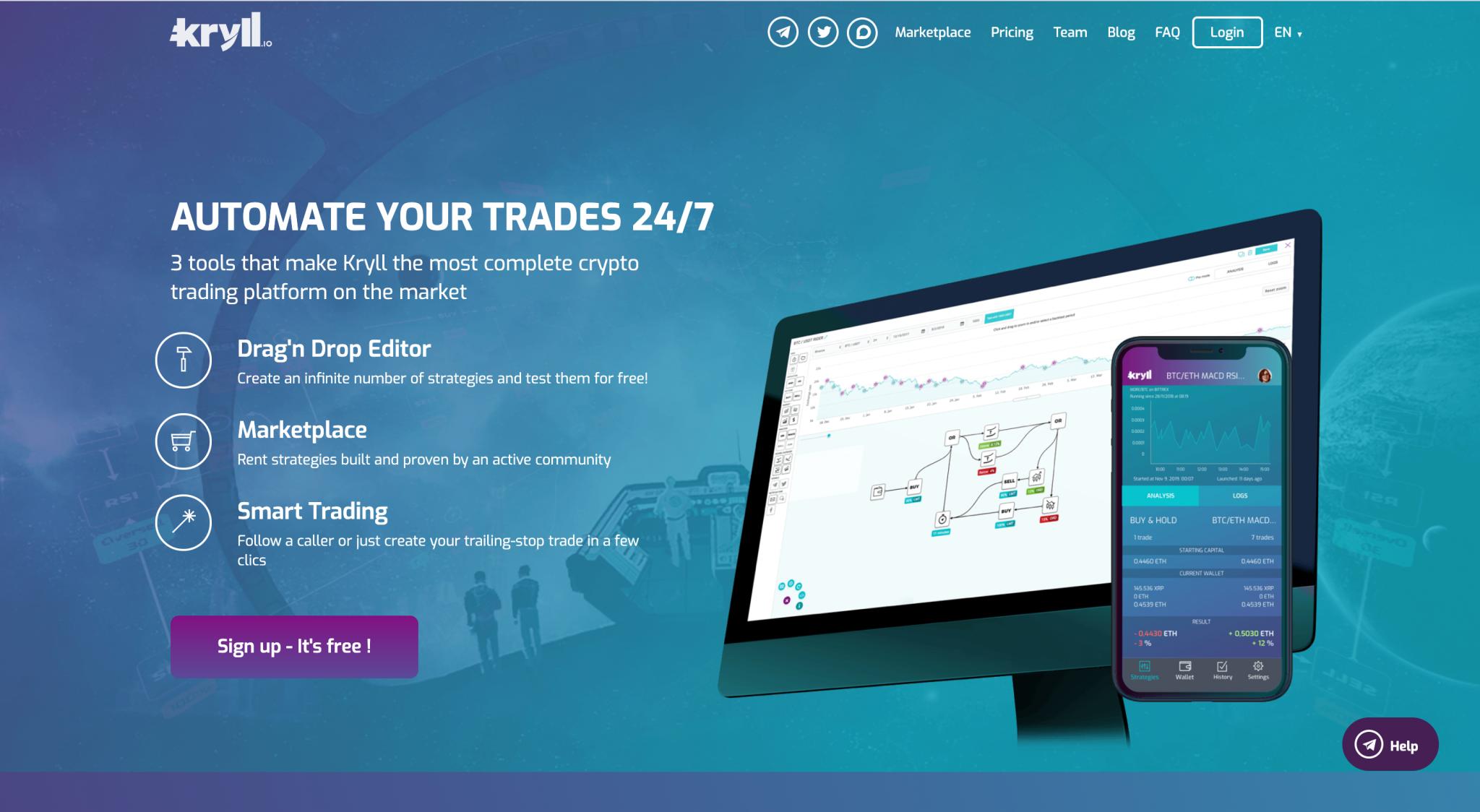 Best Crypto trading Bots 2020